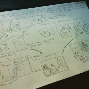 Thumbnail storyboards are fun!